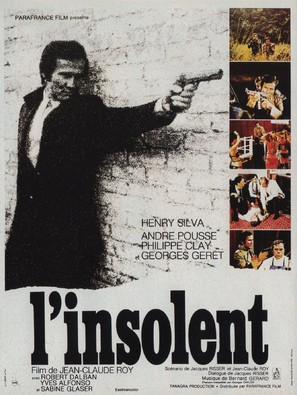 L'insolent - French Movie Poster (thumbnail)