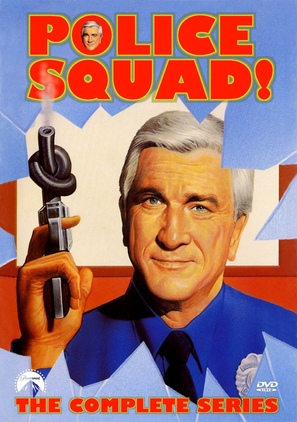 """""""Police Squad!"""" - DVD movie cover (thumbnail)"""