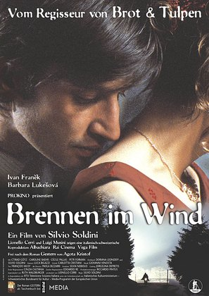 Brucio nel vento - German poster (thumbnail)