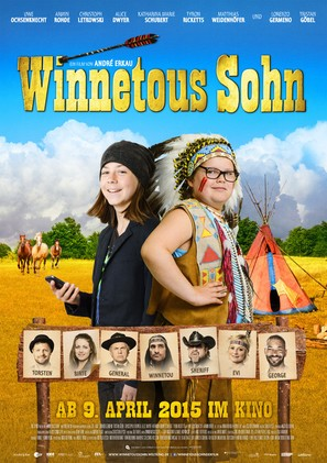 Winnetous Sohn - German Movie Poster (thumbnail)