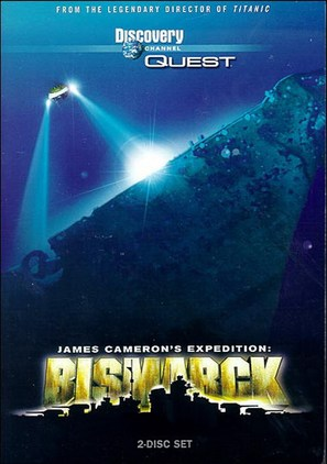 Expedition: Bismarck - DVD cover (thumbnail)