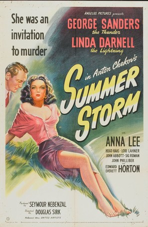 Summer Storm - Movie Poster (thumbnail)