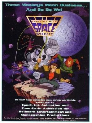 """Captain Simian & The Space Monkeys"" - Movie Poster (thumbnail)"