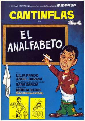 El analfabeto - Spanish Movie Poster (thumbnail)