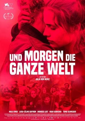 Und morgen die ganze Welt - German Movie Poster (thumbnail)