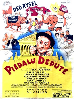 Piédalu député - French Movie Poster (thumbnail)