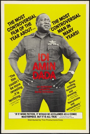 Gènèral Idi Amin Dada: Autoportrait - Movie Poster (thumbnail)