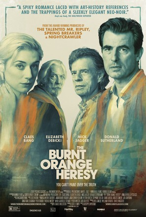 The Burnt Orange Heresy - Movie Poster (thumbnail)