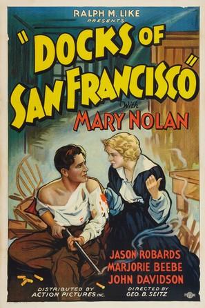 Docks of San Francisco - Movie Poster (thumbnail)