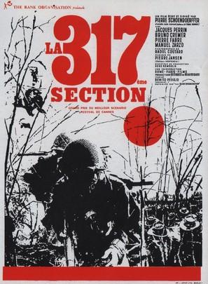 La 317eme section - Belgian Movie Poster (thumbnail)
