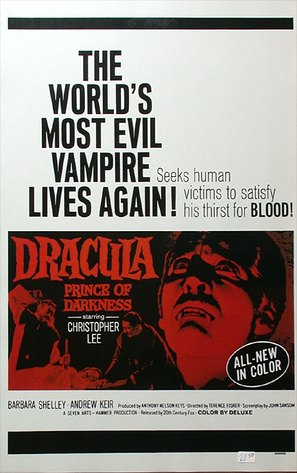 Dracula: Prince of Darkness - Movie Poster (thumbnail)