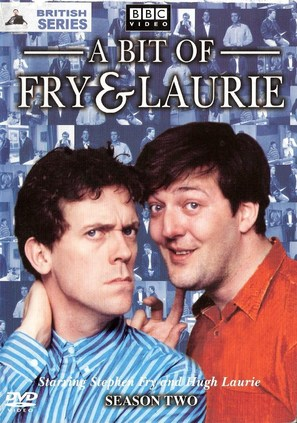 """A Bit of Fry and Laurie"" - DVD movie cover (thumbnail)"