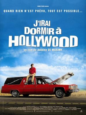 J'irai dormir à Hollywood - French Movie Poster (thumbnail)