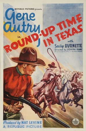 Round-Up Time in Texas - Movie Poster (thumbnail)