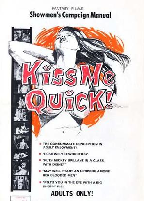 Kiss Me Quick! - Movie Poster (thumbnail)