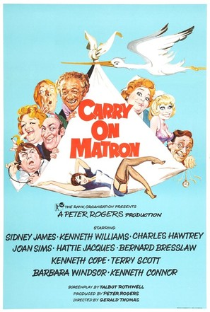 Carry on Matron - British Movie Poster (thumbnail)