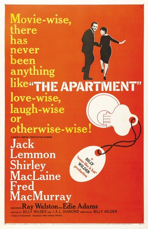 The Apartment - Movie Poster (thumbnail)