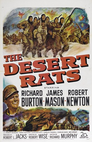 The Desert Rats - Movie Poster (thumbnail)