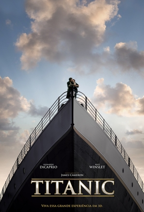 Titanic - Brazilian Movie Poster (thumbnail)