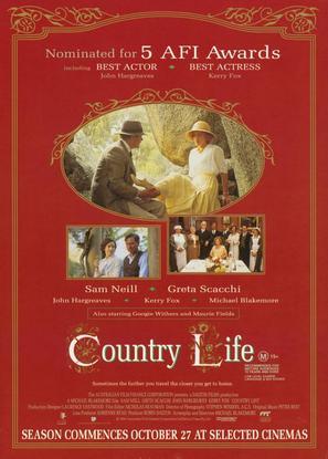 Country Life - Australian Movie Poster (thumbnail)