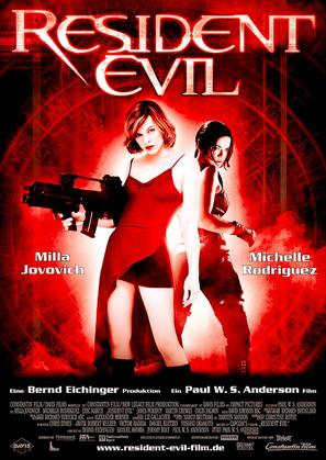 Resident Evil - German Movie Poster (thumbnail)