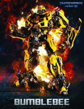 Transformers: The Ride - 3D - Movie Poster (thumbnail)