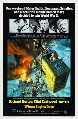 Where Eagles Dare - Movie Poster (thumbnail)