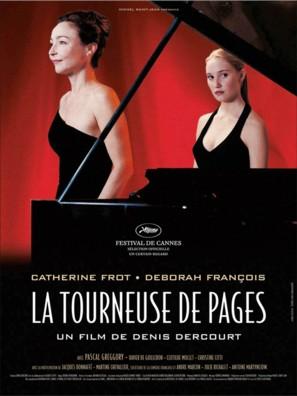 La tourneuse de pages - French poster (thumbnail)