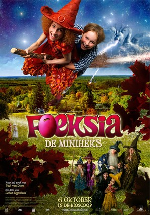 Foeksia de miniheks - Dutch Movie Poster (thumbnail)