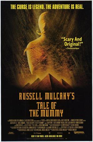 Tale of the Mummy - Video release poster (thumbnail)