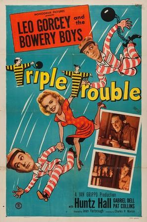 Triple Trouble - Movie Poster (thumbnail)