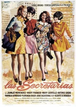 Las secretarias - Spanish Movie Poster (thumbnail)