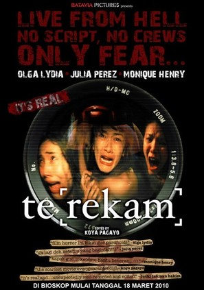 Te[rekam] - Indonesian Movie Poster (thumbnail)