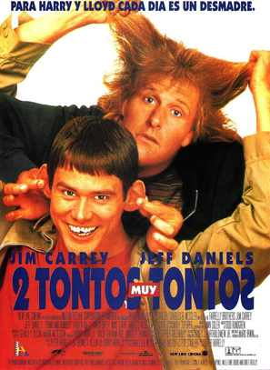 Dumb & Dumber - Spanish Movie Poster (thumbnail)
