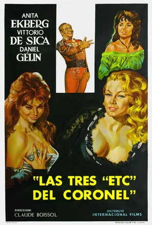 Trois etc. du colonel, Les - Argentinian Movie Poster (thumbnail)