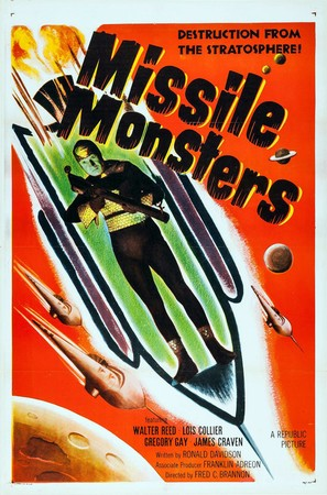 Missile Monsters - Movie Poster (thumbnail)