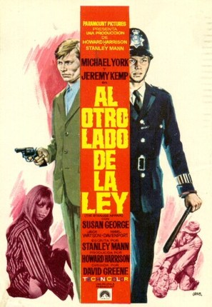 The Strange Affair - Spanish Movie Poster (thumbnail)