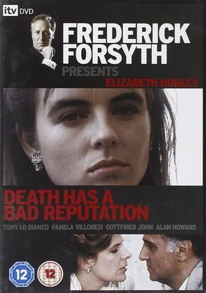 """""""Frederick Forsyth Presents"""" Death Has a Bad Reputation - British Movie Cover (thumbnail)"""
