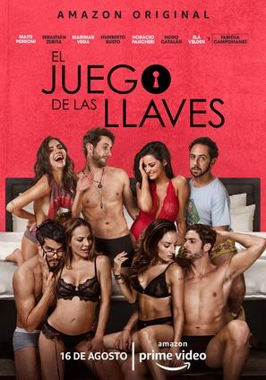 """""""El Juego de las Llaves"""" - Mexican Movie Poster (thumbnail)"""