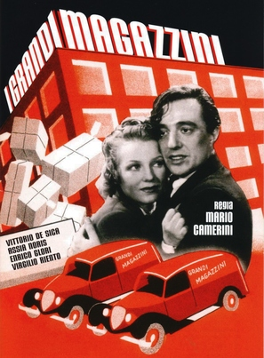 I grandi magazzini - Italian Movie Poster (thumbnail)