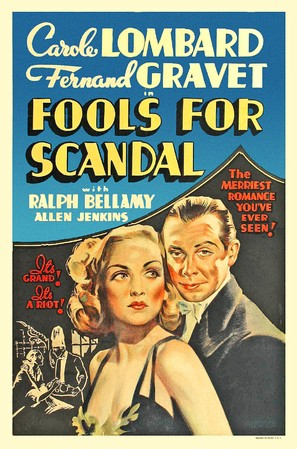Fools for Scandal - Movie Poster (thumbnail)