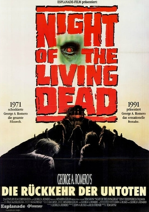 Night of the Living Dead - German Movie Poster (thumbnail)