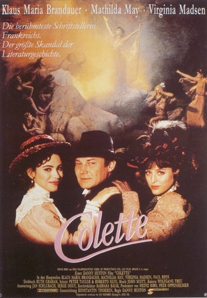 Becoming Colette - German Movie Poster (thumbnail)