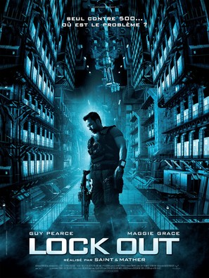 Lockout - French Movie Poster (thumbnail)