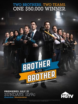 """Brother vs. Brother"" - Movie Poster (thumbnail)"