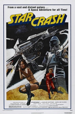 Starcrash - Movie Poster (thumbnail)