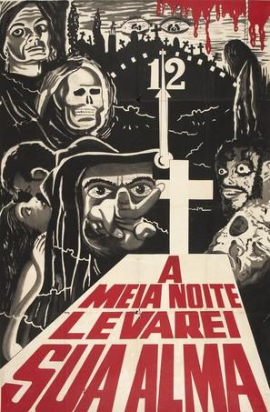 À Meia-Noite Levarei Sua Alma - Brazilian Movie Poster (thumbnail)
