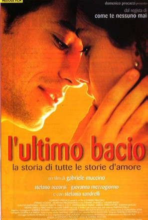 Ultimo bacio, L' - Italian Movie Poster (thumbnail)