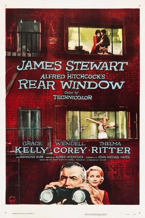 Rear Window - Theatrical poster (thumbnail)