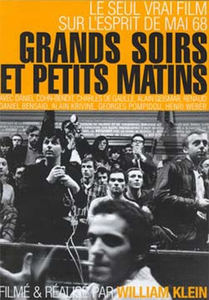 Grands soirs & petits matins - French Movie Poster (thumbnail)